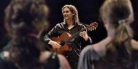 Musikalsk prøve med komponist Nikola Diklic.  Foto: Laura Salvinelli