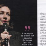 SØNDAG MAGAZINE: INTERVIEW WITH BRIGITTE CHRISTENSEN